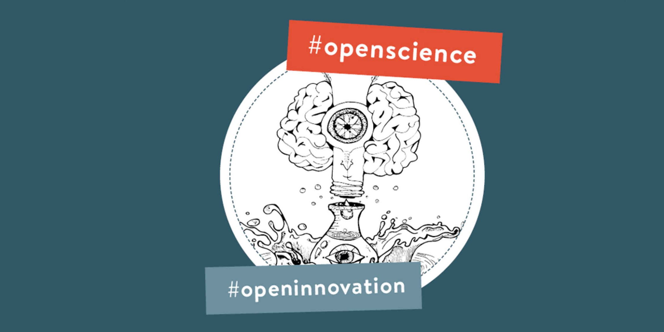 Illustration zu Open Science und Open Innovation