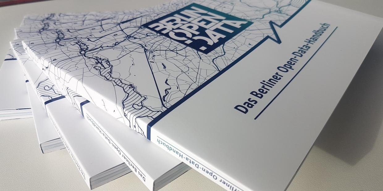 Foto des Berliner Open-Data-Handbuchs