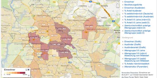 iXmaps Web Map API Screenshot