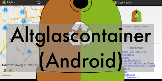 Altglascontainer (Android App)