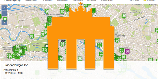 berlinmap Screenshot