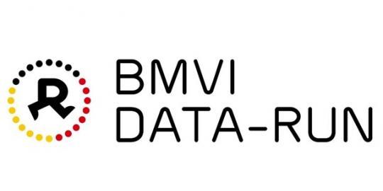 Logo der Veranstaltung Data-Run des BMVI
