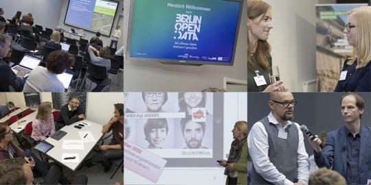 Bilder vom Berlin Open Data Day 2018