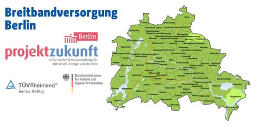 Breitbandversorgung in Berlin