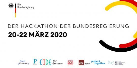 """Ankündigung des Hackathons """"WirVsVirus"""" vom 20.-22.03.2020"""