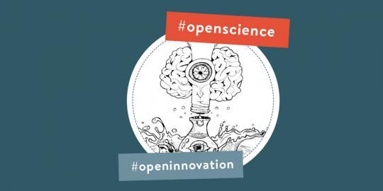 Illustration zu Open Science und Open Innovation