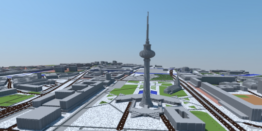 Berlin in Minecraft