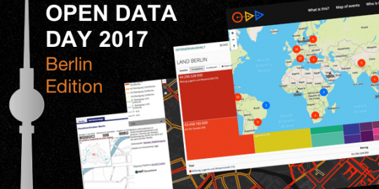 Open Data Day 2017 - Berlin Edition