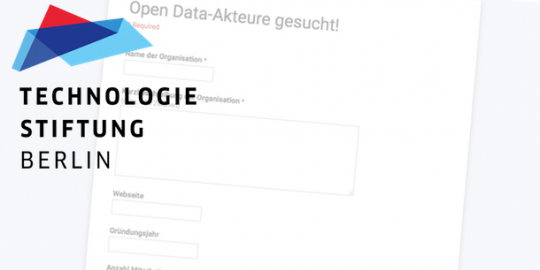 Open Data Umfrage der Technologiestiftung Berlin