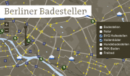 Berliner Badestellen - Screenshot