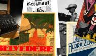 Collage aus Digitalisaten Berliner Kultureinrichtungen
