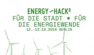Screenshot der Energyhack-Webseite