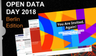 Open Data Day 2018 - Berlin Edition