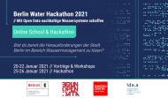 "Ankündigung des ""Berlin Water Hackathon 2021"""